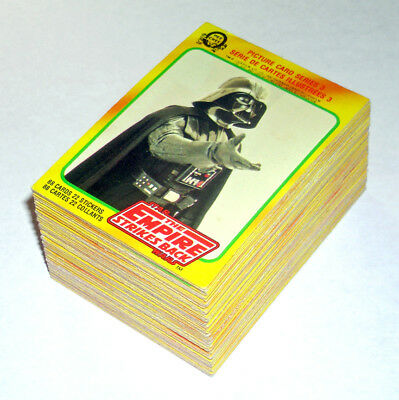 STAR WARS cards set O-Pee-Chee 1980 Empire Strikes Back Series 3 OPC vintage