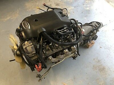 5.3 LS Iron Block Complete Engine 4l60e Auto