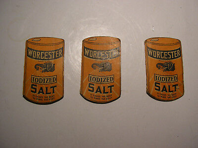 Vintage Elephant Logo Worcester Salt Sewing Needle Pack Advertisement Premium