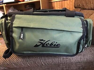 Hobie Tackle Bag, numerous zippered pockets, web handles and web shoulder strap