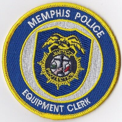 Memphis Police Justice Protection Police Tennessee TN Police patch