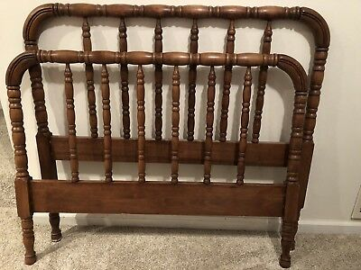 Antique Jenny Lind Twin Bed Spool