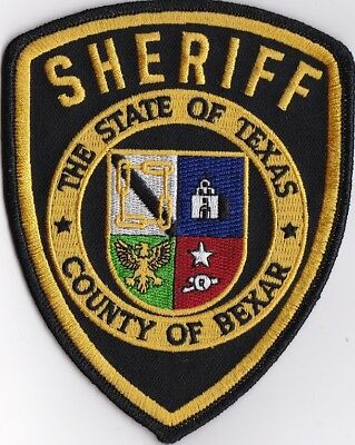 County of Bexar Sheriff Texas TX Police Patch