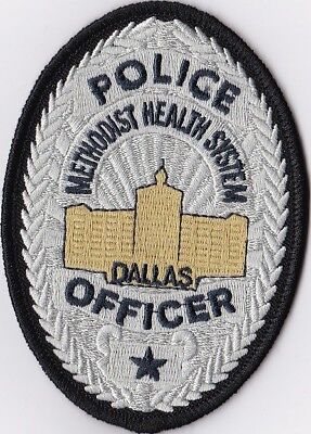 Dallas Police Officer Texas TX Police Patch