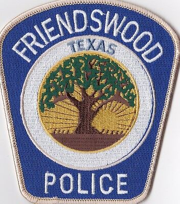 Friendswood Police Texas Patch  TX NEW