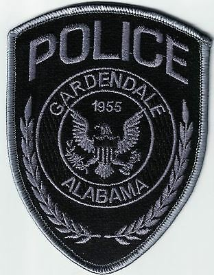 Gardendale Police Alabama subdued patch