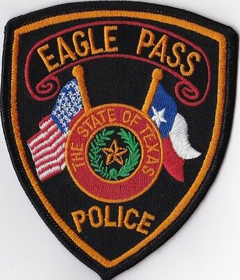 Eagle Pass Texas TX Police Patch