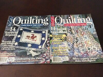 McCalls Quilting (2) Magazines
