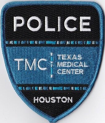 Houston TMC Texas Medical Center Police Patch Texas TX
