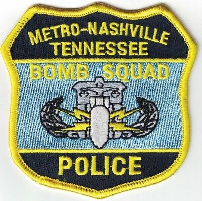 Metro-Nashville Police Bomb Squad Tennessee TN patch