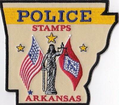 Stamps Police Patch Alabama AL