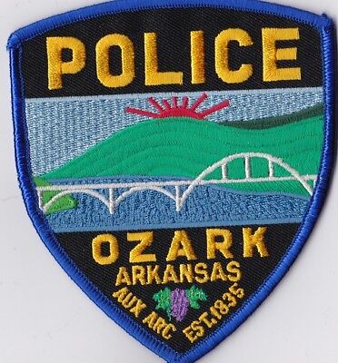 Ozark Police Patch Arkansas