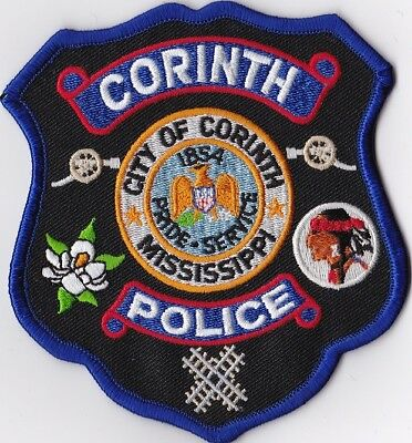 Corinth Police Patch Mississippi MS