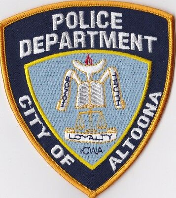 City of Altoona Police Dept. Police Patch Iowa IA