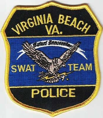 Virginia Beach Police SWAT Team VA patch