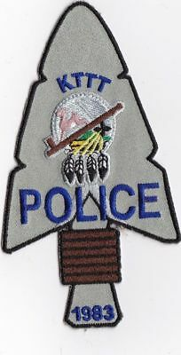 KTTT Tribal Police Police Patch - Kickapoo Police patch