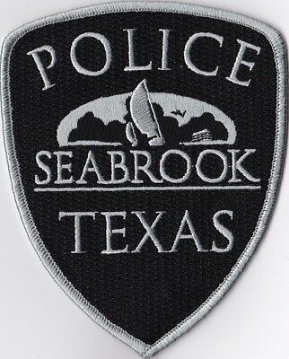 Seabrook Police Patch Texas TX
