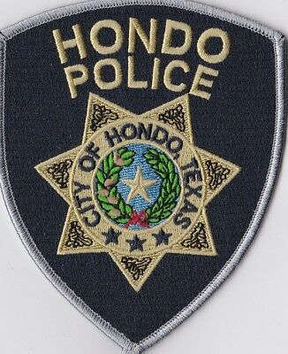 Hondo Police Patch Texas TX