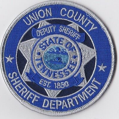 Union County Sheriffs Dept. TN Tennessee patch