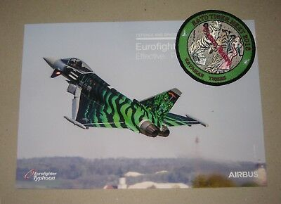 Patch / Aufnäher C - NTM Nato Tiger Meet 2018 - TaktLwG 74 - Luftwaffe / GAF -