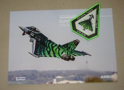 Patch / Aufnäher D - NTM Nato Tiger Meet 2018 - TaktLwG 74 - Luftwaffe / GAF -