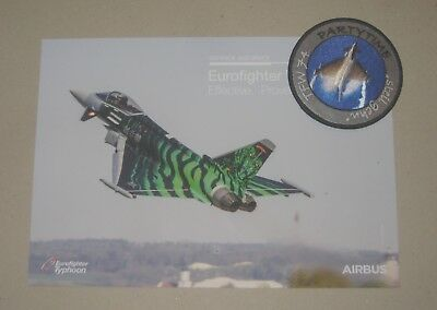 Patch / Aufnäher E - NTM Nato Tiger Meet 2018 - TaktLwG 74 - Luftwaffe / GAF -