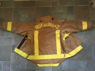 **Morning Pride Turnout Firefighter Bunker Coat Jacket SIZE 44 Fire Fighter Coat