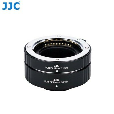 JJC AET-FXS Auto Focus AF Macro Extension Tube Set for Fujifilm X Mount