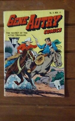 Gene Autry #3 Dell 1942 the singing cowboy