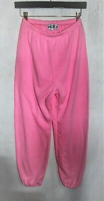 WILDFOX COUTURE women's sweatpant, barbie, pink, loose, oversize, track pants. s
