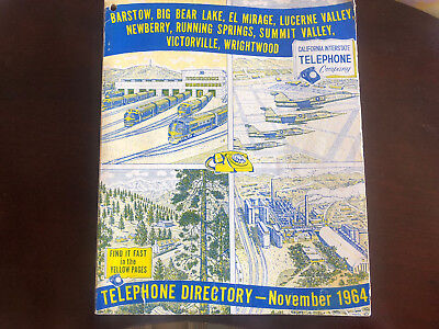 Vintage Yellow pages phone book