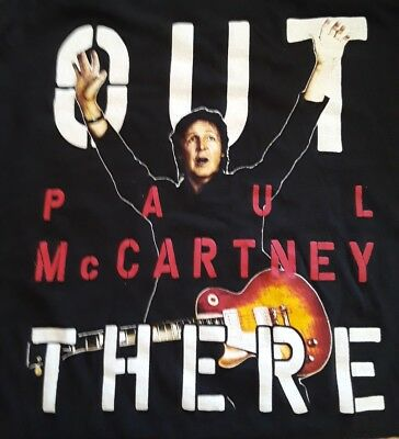 T Shirts Paul McCartney Out There Tour 2016 Seattle
