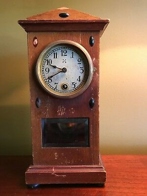 antique clock - HAC miniature - rare and collectable