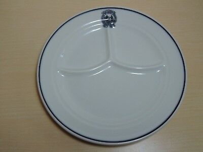 1963 West Virginia Centennial Divided Dish Plate - Restaurant McNichol China