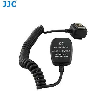JJC FC-O3(1M) TTL Off Camera Flash Extension Cord Cable for OLYMPUS Speedlite