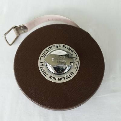 Vintage Lufkin Woven Tape Measure, 66 ft Non-Metallic