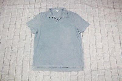ca3534c539c JAMES PERSE Slim Fit Sueded Jersey Polo Size 4 $95