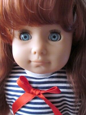 Adorable Vintage Gotz Doll Red Hair / Ginger Red Hair Blue Eyes