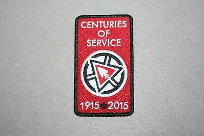 2015 Oa Order Of The Arrow Centuries Of Service Oa Sash Patch