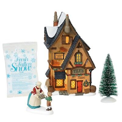 Department 56 Silver Series Dickens Village Tily's Boiled Sweets Sale-Aug 31