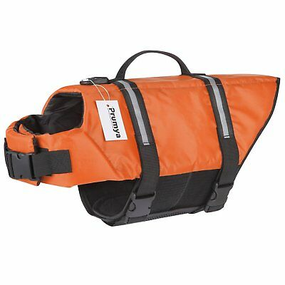 Dog Life Jacket Safety Vest Pet Floating Swimming Preserver Puppy Saver Coat