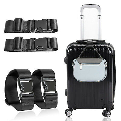 Adjustable Travel Suitcase Belt Attachment Accessories - Add a Bag Luggage Strap
