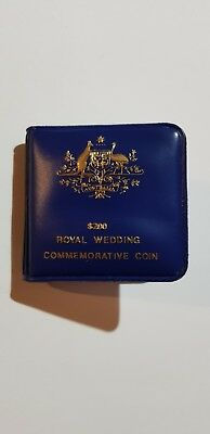 1981 Charles & Diana Commemorative Wedding Australia $200 Gold Coin Uncirculated