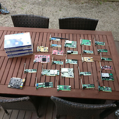 Assorted PCI PCIe AGP Expansion Cards