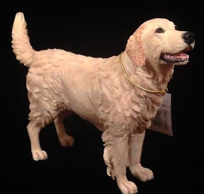 "NOS Country Artists Golden Retriever Dog Figurine Standing 7.25"" L # CA01529"