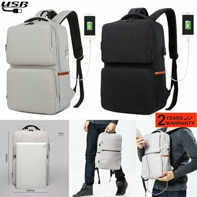 Anti-Theft Backpack 15.6 Inch Laptop Business Water-Resistant Student School Bag