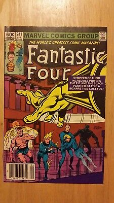 Fantastic Four High Grade Lot #241, 242, 244, 245 all VF-NM 1982 Marvel Byrne