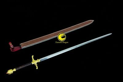 Game of Thrones Handmade Battle Ready Folded Steel Needle Sword  Sharp #01