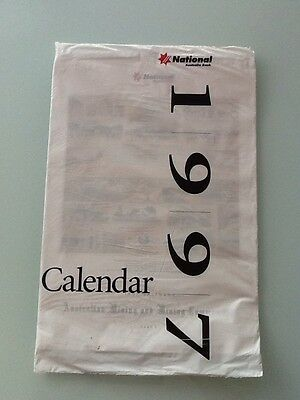 National Australia Bank 1997 Calendar, Australian Mining And Mining Communities