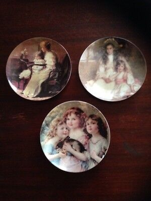 3 Victorian Dreams Collection Plates - Tullamarine Pick Up
